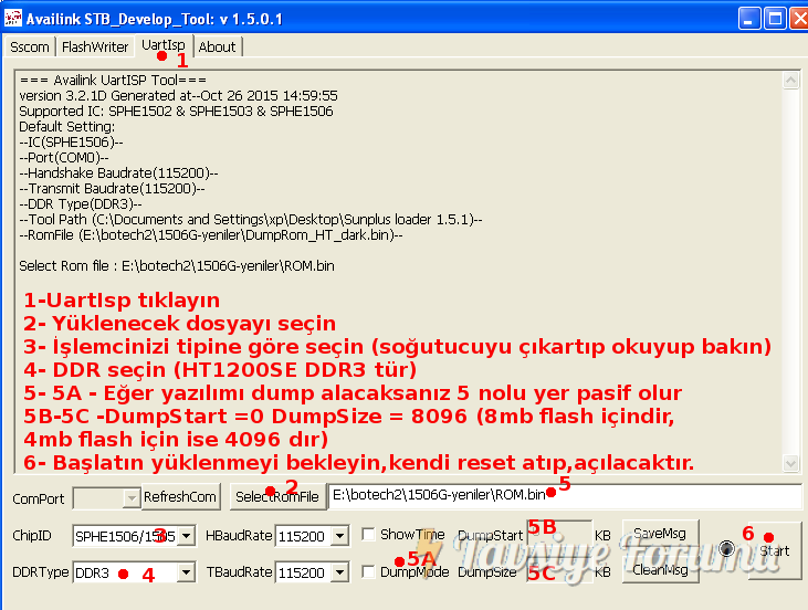 Sunplus Loader 1506t
